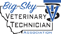 Logo for Big Sky Veterinary Technician Association